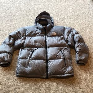 Vtg  The North Face silver Nuptse Puffer Jacket  L